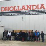 Exkurzia 3. A triedy odboru mechanik nastavovač vo firme DHOLLANDIA Central Europe s.r.o.