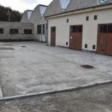 Prestavba zadného dvora