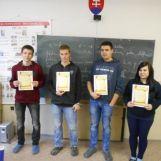 Školské kolo olympiády v nemeckom jazyku 2014/2015 fotografie